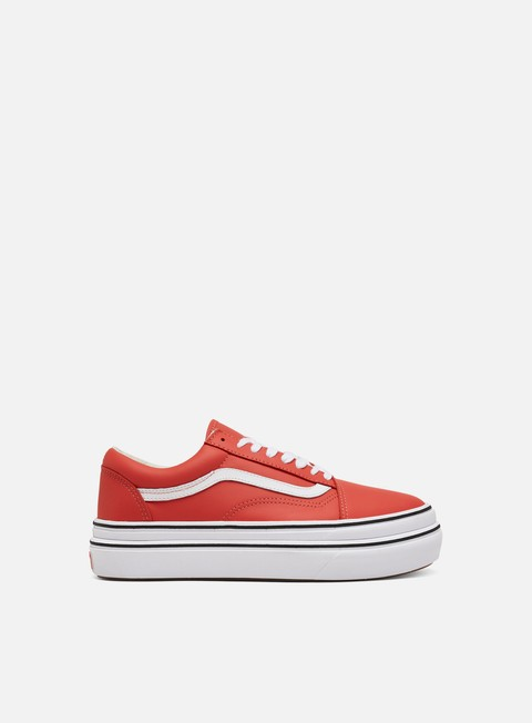 Sale Outlet Low Sneakers Vans Vault Super ComfyCush Old Skool LX Leather