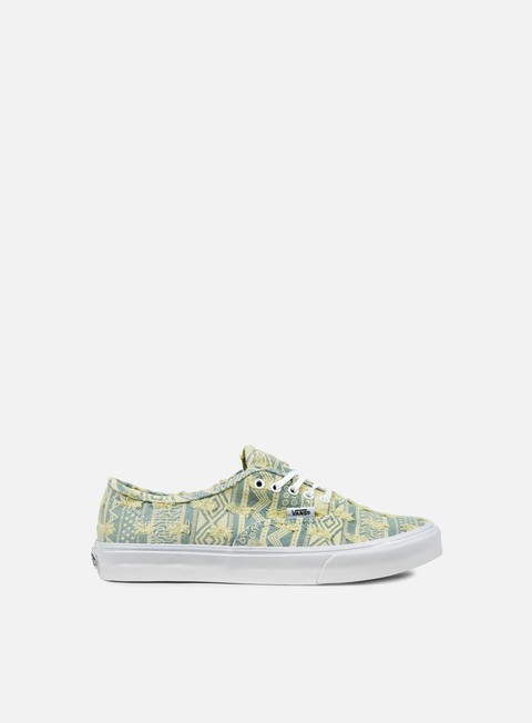 sneakers vans wmns authentic slim frayed native true white