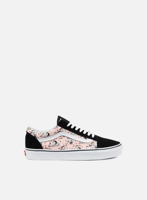 sneakers vans wmns old skool peanuts smack pearl