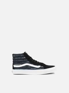 Vans - WMNS Sk8 Hi Slim Italian Weave, Black/Multi 1