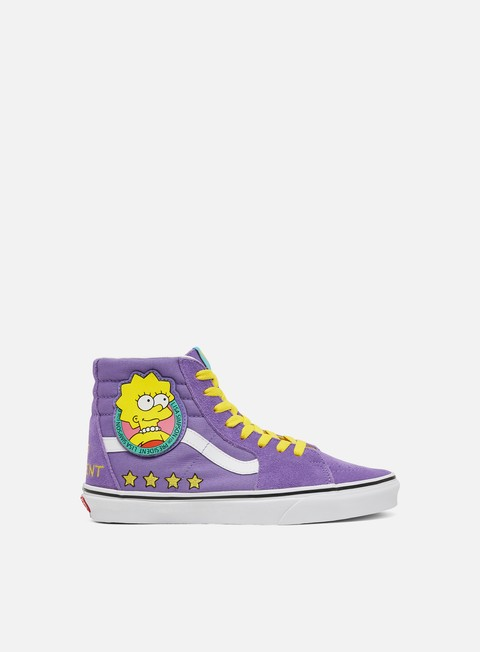 Sneakers da Skate Vans WMNS Sk8 Hi The Simpsons