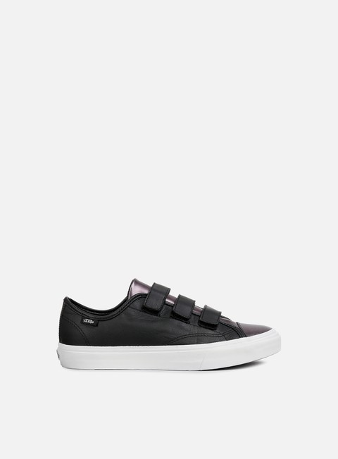sneakers vans wmns style 23 2 tone leather gunmetal