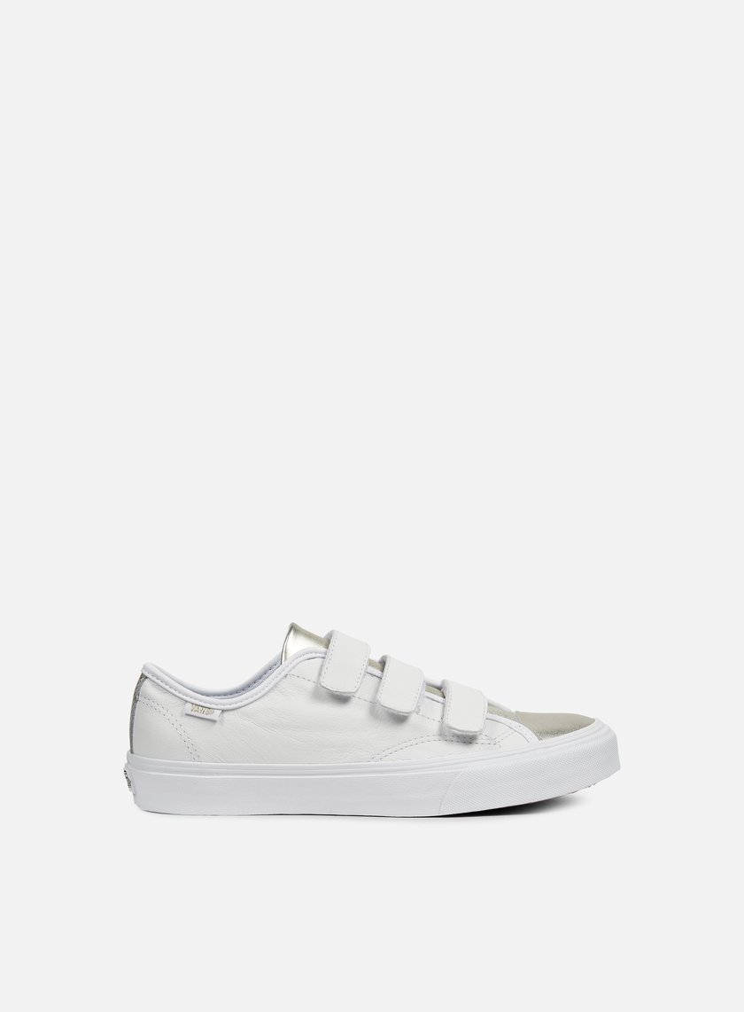 Vans - WMNS Style 23 2-Tone Leather, Metal Silver/True White