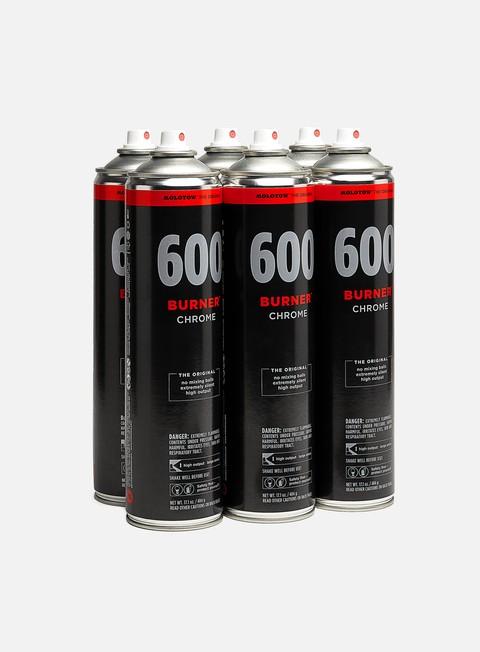 Combo pack di spray Molotow Burner 600 ml 6 Pack