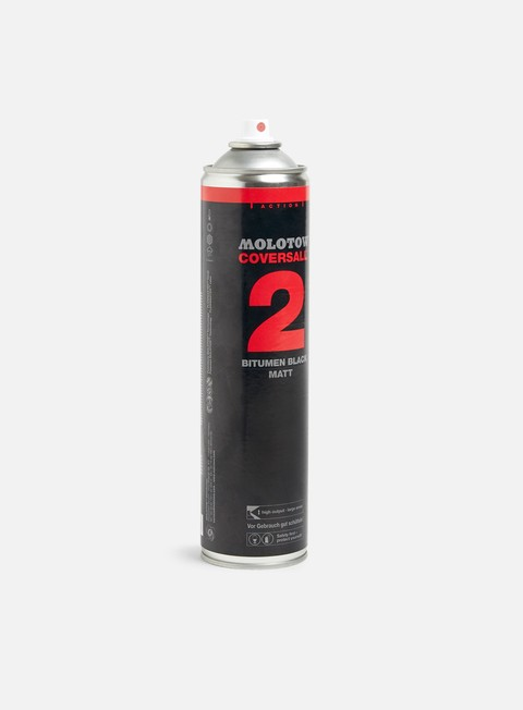 Bombing spray cans Molotow Coversall 2 Outline Black