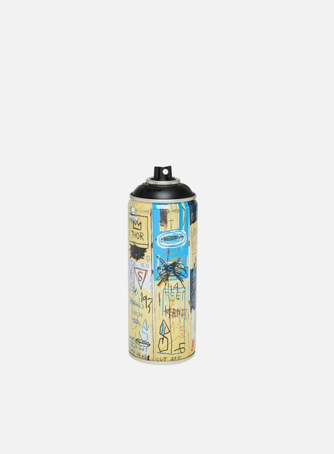 Limited edition spray cans Montana MTN 94 Ltd Ed by Jean Michel Basquiat