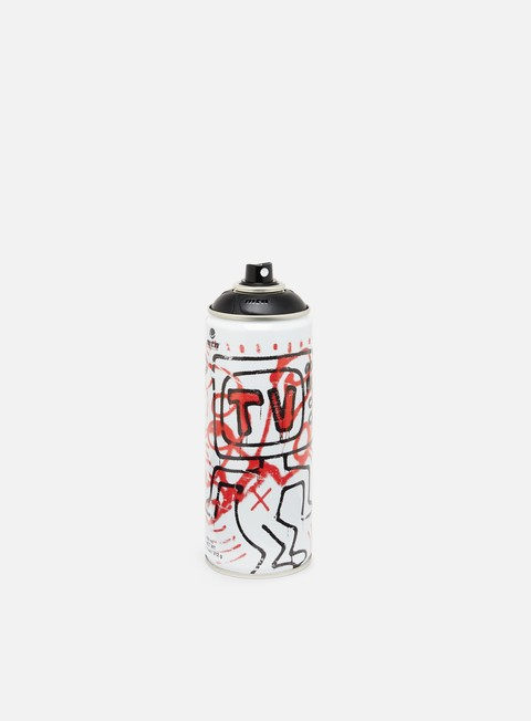 Limited edition spray cans Montana MTN 94 Ltd Ed by Keith Haring