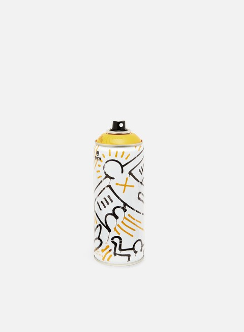 spray montana mtn 94 ltd ed by keith haring light yellow