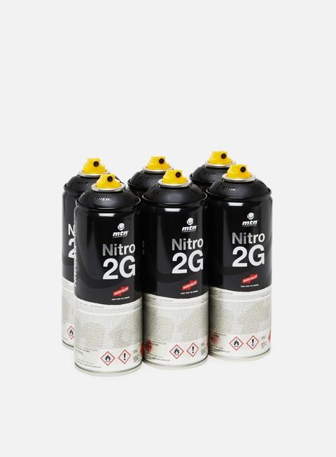 Spray cans packs Montana Nitro 2G 400 ml 6 Pack