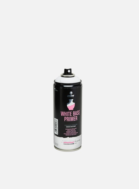 MTN Specials Spray Cans Montana PRO Matt White Base Primer 400 ml