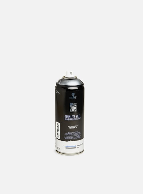 Fine Art Spray Cans Montana PRO Stainless Steel Home Appliance Paint 400 ml
