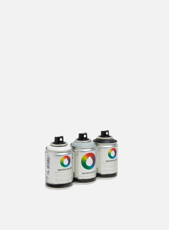Montana Water Based 100 ml Basic 3 Pack