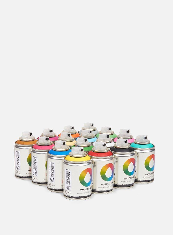 Montana Water Based 100 ml Workshop 16 Pack