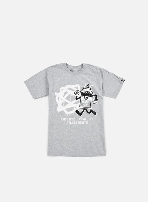T-shirt a Manica Corta 123Klan Spraycan Liberté T-shirt