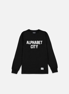 Acapulco Gold - Alphabet LS T-shirt, Black 1