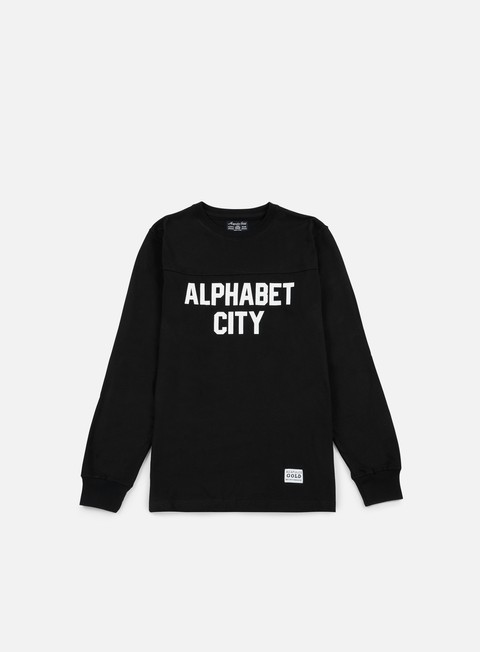 t shirt acapulco gold alphabet ls t shirt black