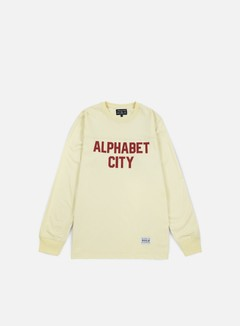 Acapulco Gold - Alphabet LS T-shirt, Cream 1
