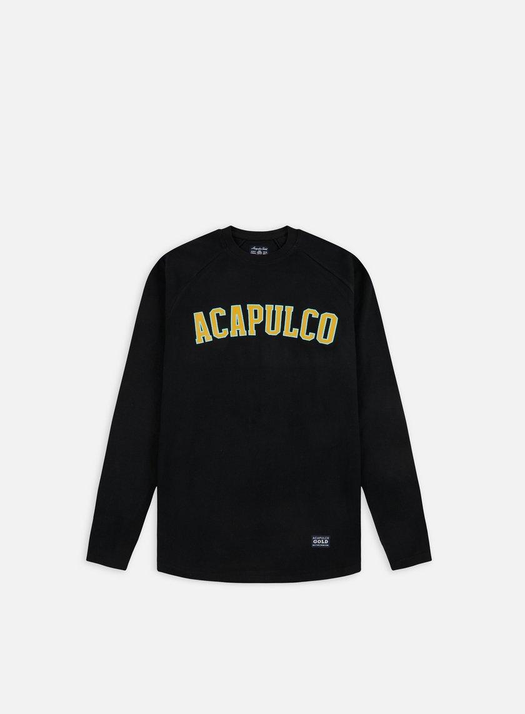 Acapulco Gold - ARC Raglan LS T-shirt, Black