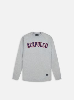 Acapulco Gold - ARC Raglan LS T-shirt, Heather Grey 1