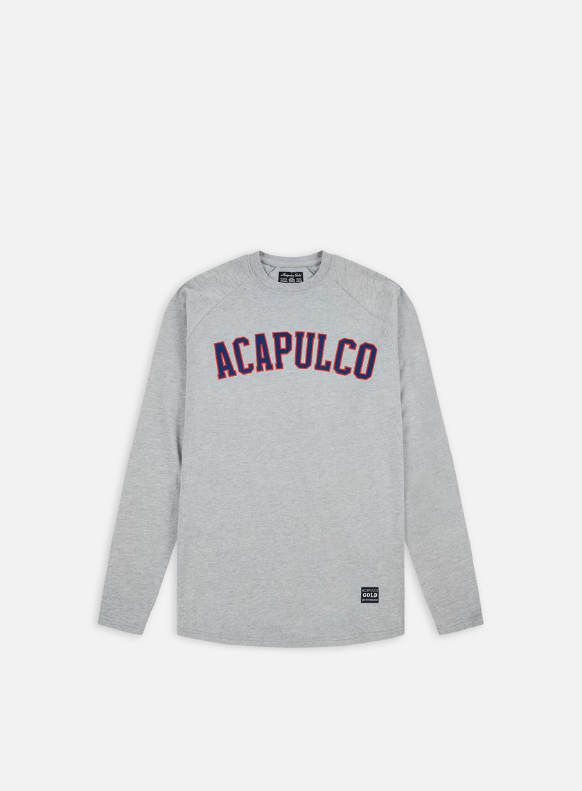 Acapulco Gold - ARC Raglan LS T-shirt, Heather Grey