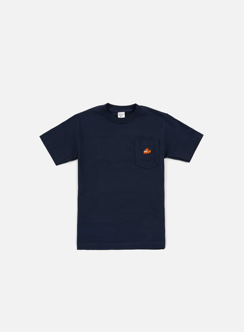 Acapulco Gold - Blinky Pocket T-shirt, Navy