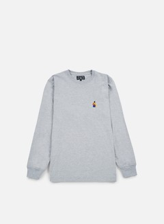 Acapulco Gold - Chef LS T-shirt, Heather Grey 1