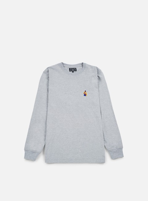 t shirt acapulco gold chef ls t shirt heather grey
