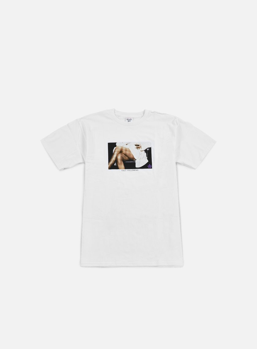 Acapulco Gold - Cult Following T-shirt, White