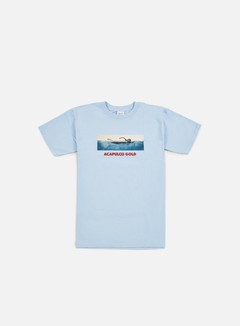 Acapulco Gold - Deep Blue T-shirt, Light Blue