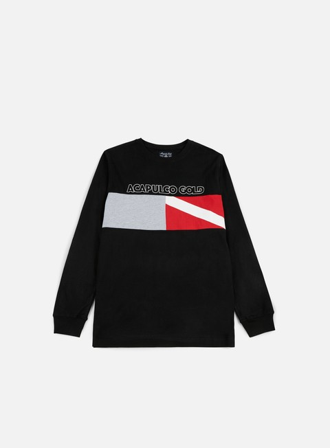 Long Sleeve T-shirts Acapulco Gold Diver Down LS T-shirt