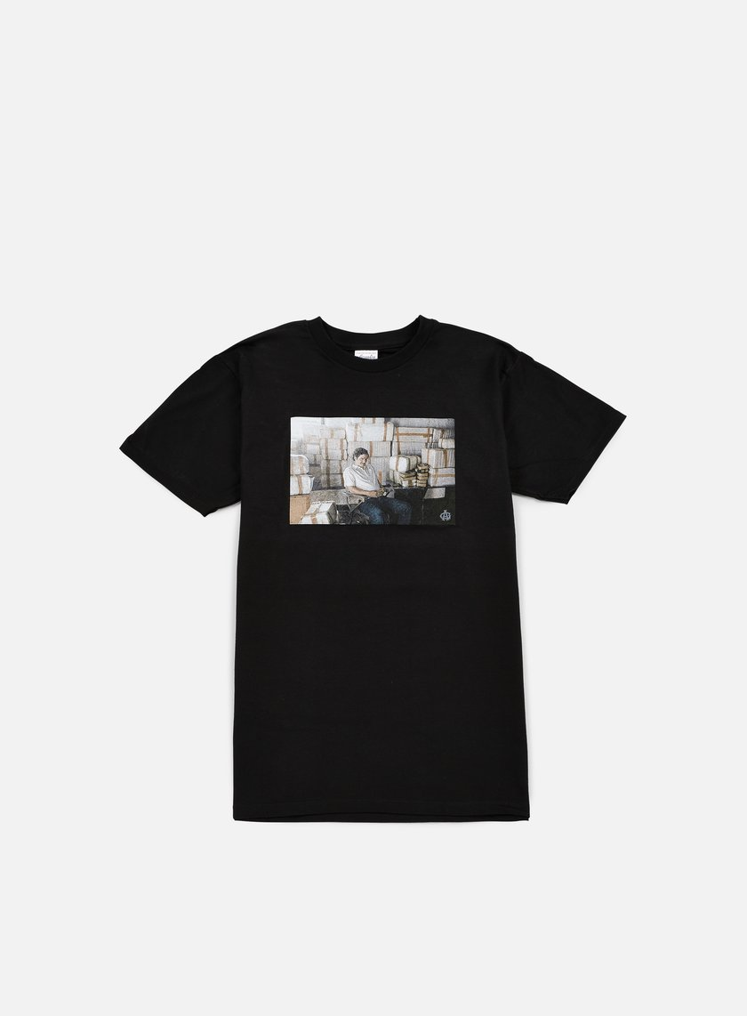 Acapulco Gold - Empire T-shirt, Black