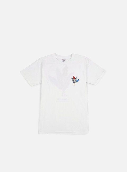 t shirt acapulco gold feathers t shirt white