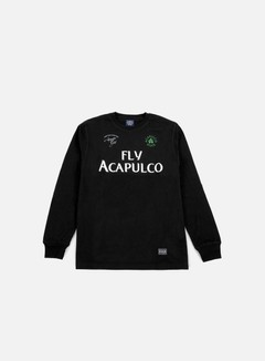 Acapulco Gold - Fly Acapulco LS T-shirt, Black 1