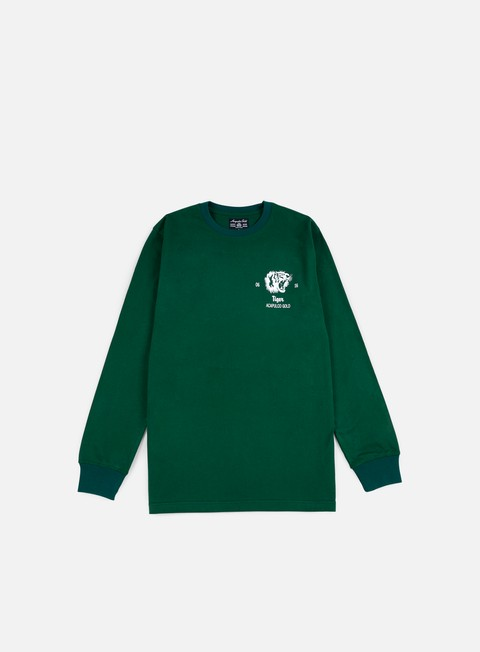 t shirt acapulco gold flying tiger ls t shirt dark green