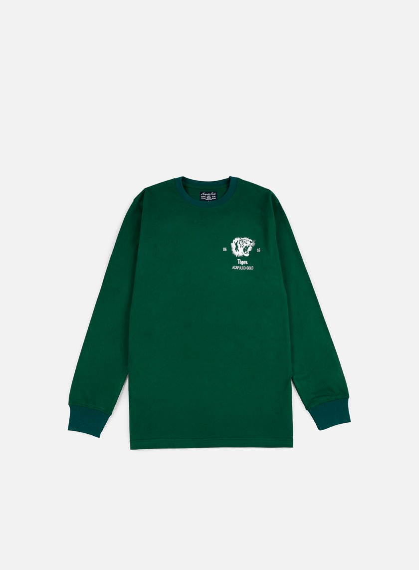 Acapulco Gold - Flying Tiger LS T-shirt, Dark Green