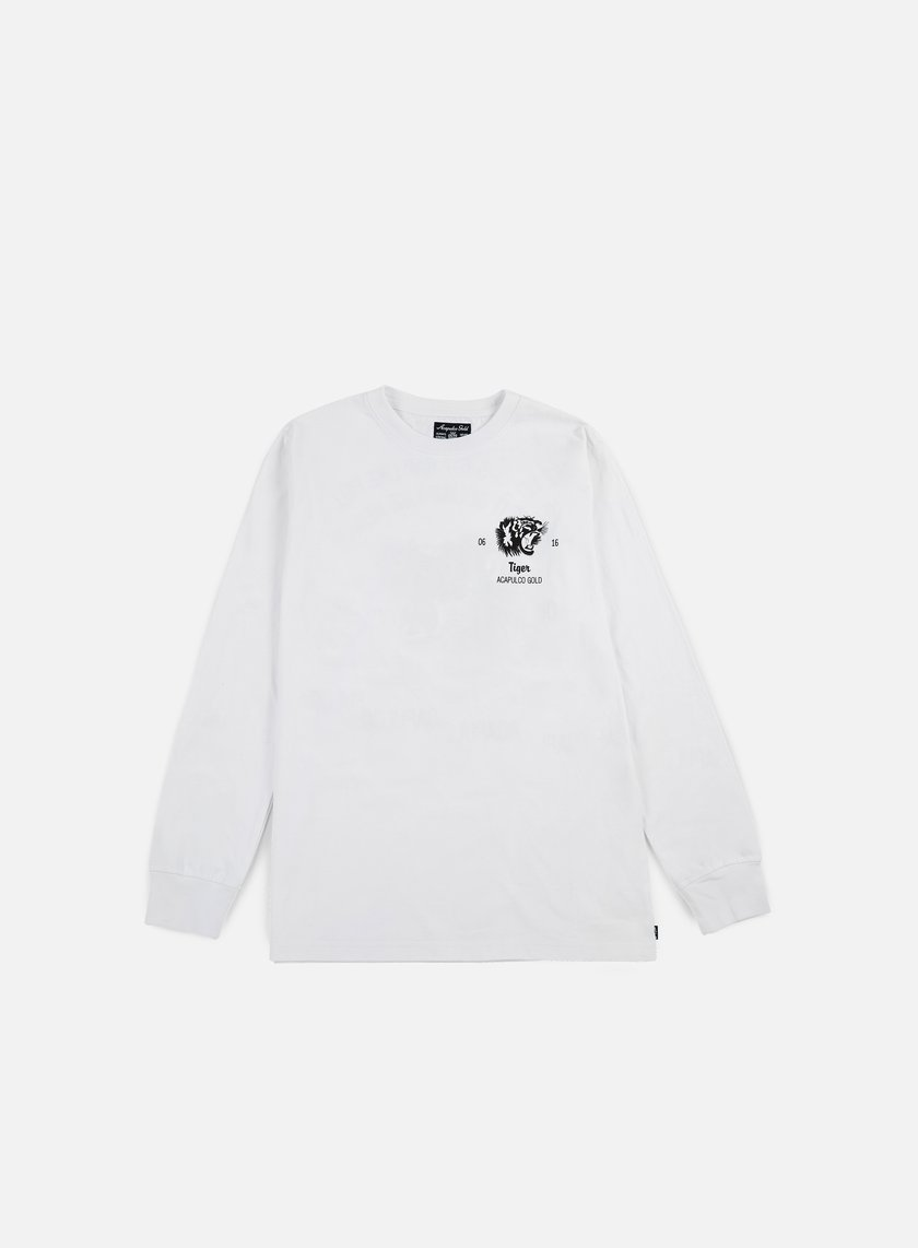 Acapulco Gold - Flying Tiger LS T-shirt, White