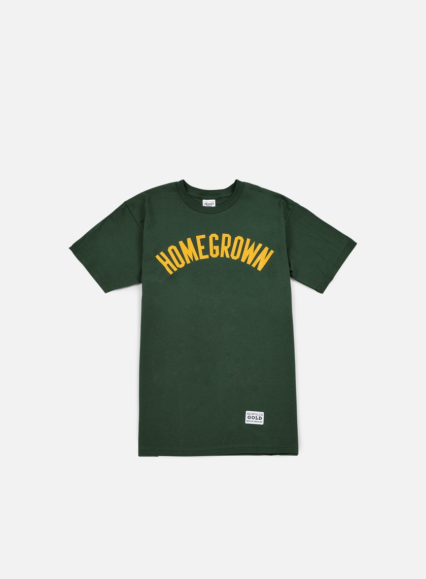 Acapulco Gold - Homegrown T-shirt, Dark Green
