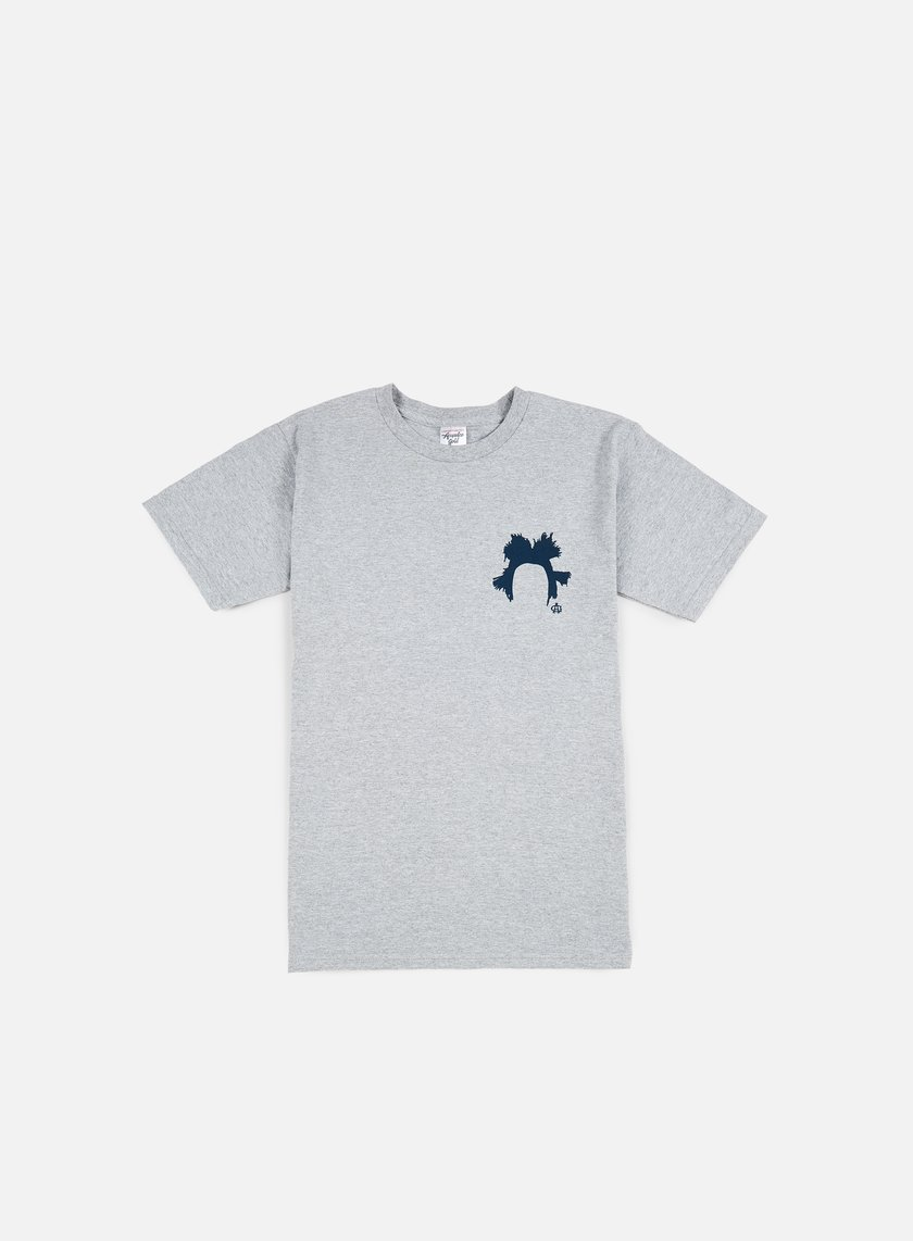 Acapulco Gold - Jean Michel T-shirt, Heather Grey