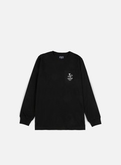 Acapulco Gold - Last Hope Pocket LS T-shirt, Black 1
