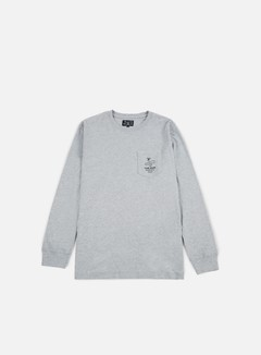 Acapulco Gold - Last Hope Pocket LS T-shirt, Heather Grey