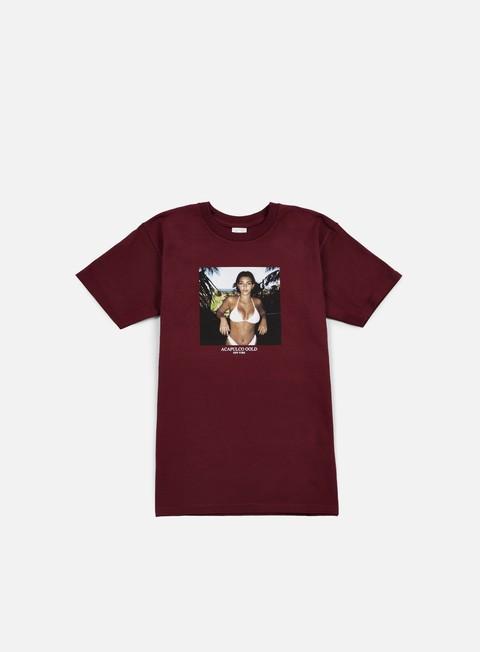 t shirt acapulco gold lil kimt shirt burgundy