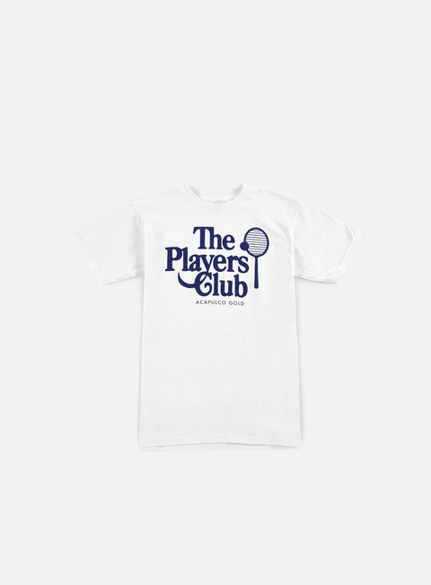 t shirt acapulco gold players club t shirt white