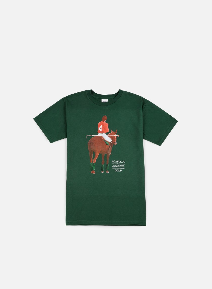 Acapulco Gold - Players Cup T-shirt, Dark Green