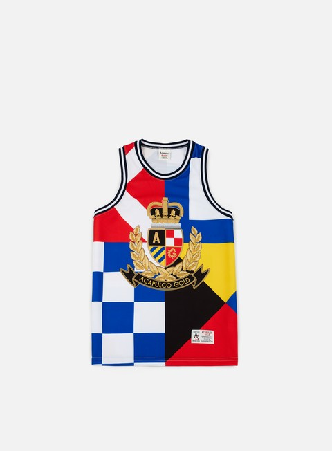 t shirt acapulco gold regatta basketball jersey multicolor