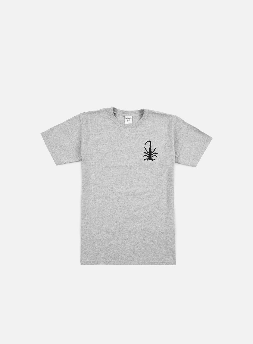 Acapulco Gold - Scorpion T-shirt, Heather Grey