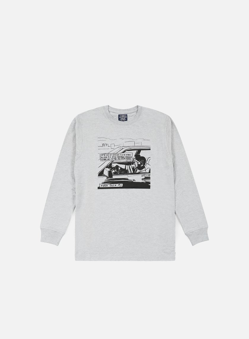 Acapulco Gold - Shook Ones LS T-shirt, Heather Grey