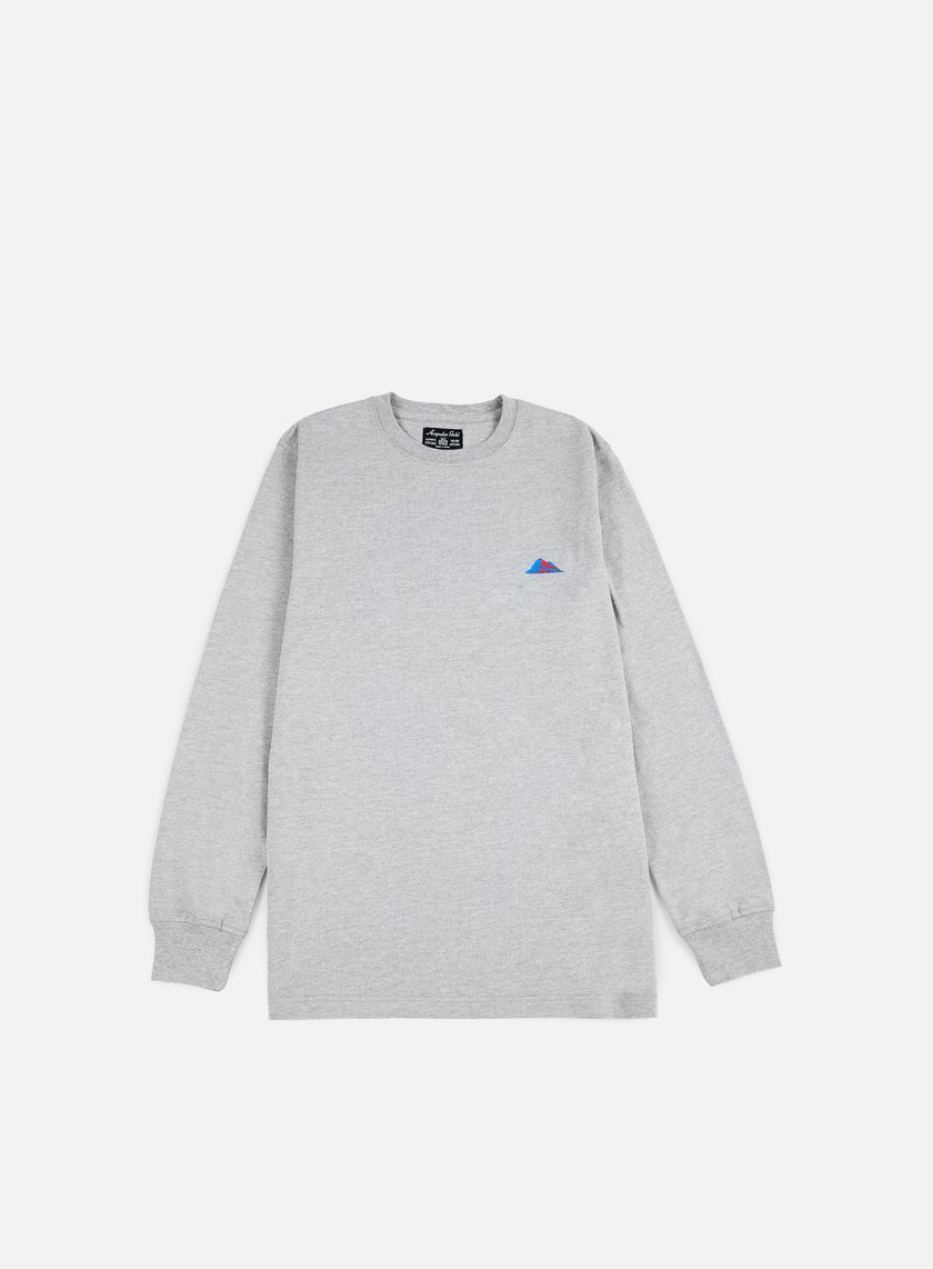 Acapulco Gold - Summit 2.0 LS T-shirt, Heather Grey