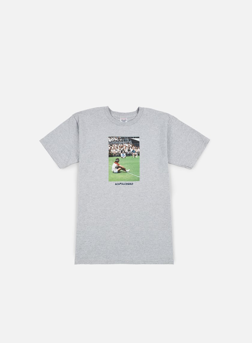 Acapulco Gold - Windswept Fields T-shirt, Heather Grey