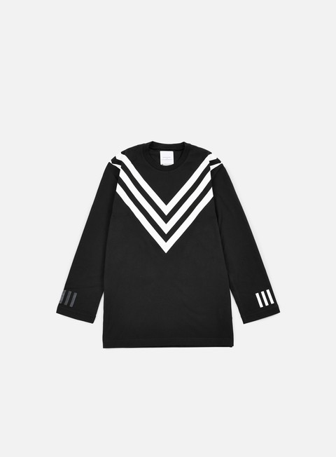 Long Sleeve T-shirts Adidas by White Mountaineering WM 3/4 Raglan T-shirt