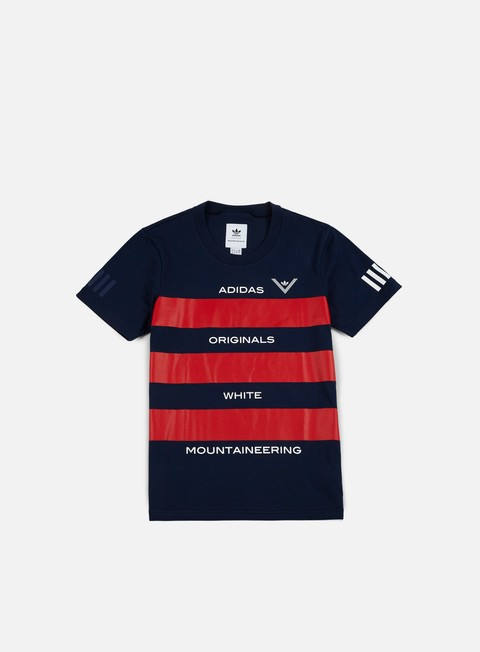 t shirt adidas by white mountaineering wm aowm t shirt collegiate navy